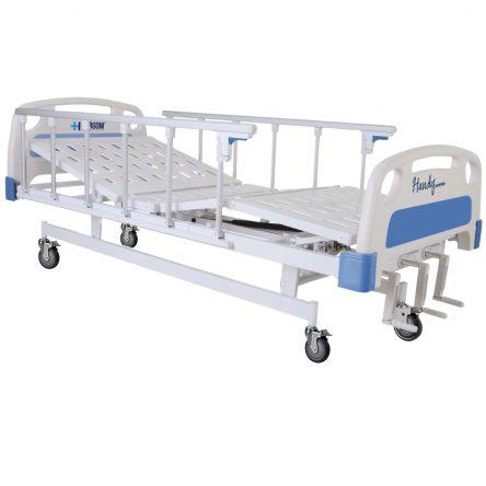 CAMA HOSPITALARIA MANUAL 3 MANIVELAS CON BASE SEMISOLIDA – C3031-2