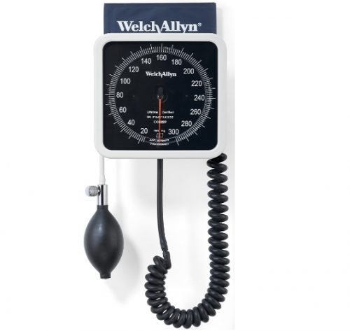 ESFIGMO ANEROIDE DE PARED WELCH ALLYN (BLANCO) WA7670-01