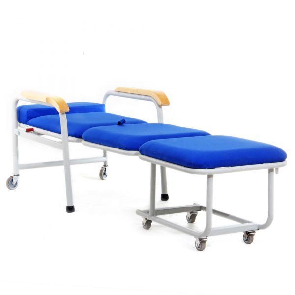 SILLA CAMA PLEGABLE PARA HOSPITALES